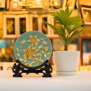 đĩa gốm sứ trang trí