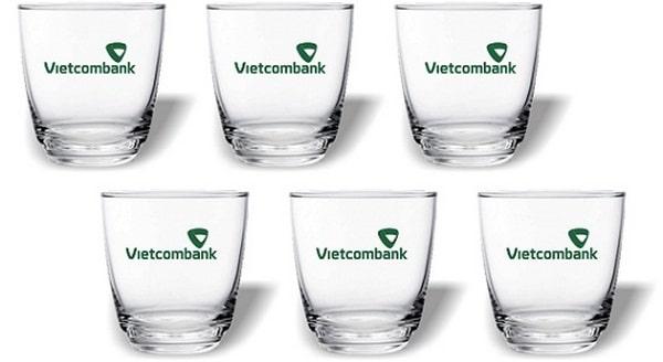 bộ ly thủy tinh in logo